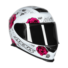 CAPACETE AXXIS EAGLE FLOWERS BR/RS - loja online