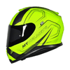 CAPACETE MT THUNDER 3 TRACE MATT YELLOW