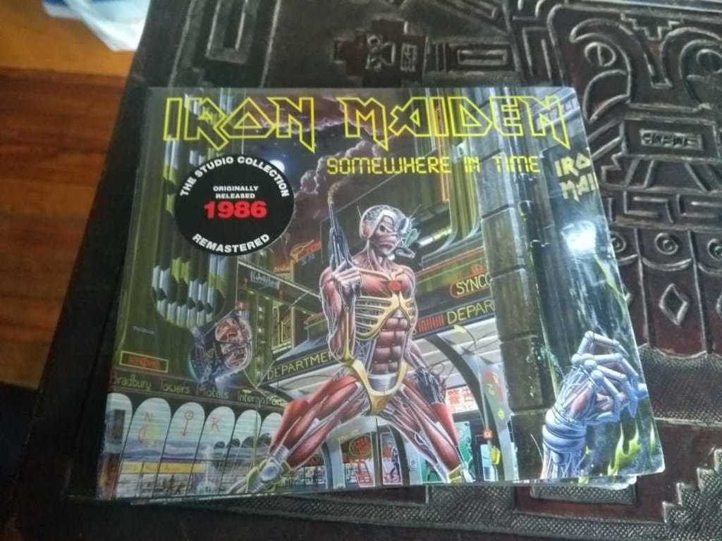 Iron Maiden Somewhere In Time Cd Digipack 2019 En Stock