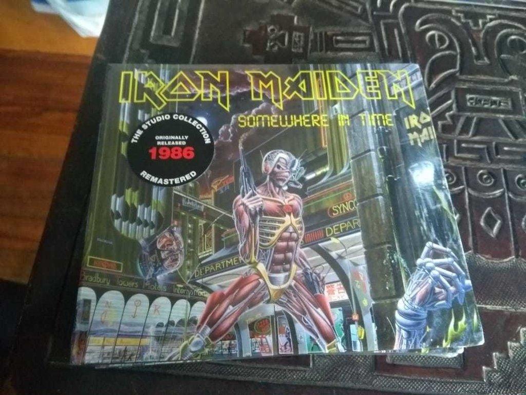 Iron Maiden Somewhere In Time Cd Digipack 2019 En Stock