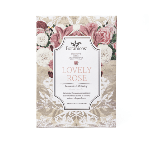 Sobre Aromatizador Lovely Rose