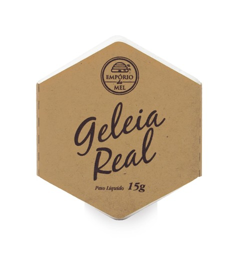 Geleia Real 15g - empório do Mel