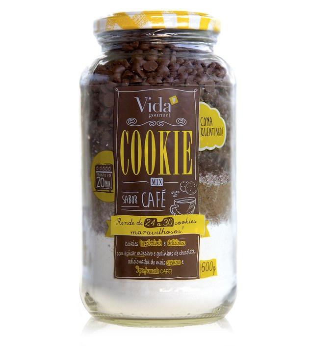 Cookie Mix Sabor Café - Vida Gourmet