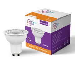 Dicroica LED 7W 220V 38º Dimerizable