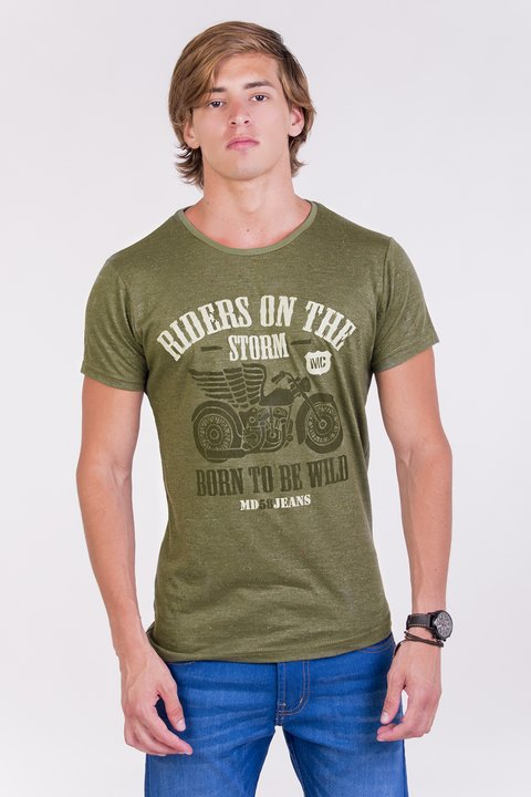 REMERA CUELLO/O RIDERS ON THE STORM BUTONEE - tienda online