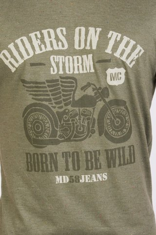 REMERA CUELLO/O RIDERS ON THE STORM BUTONEE en internet