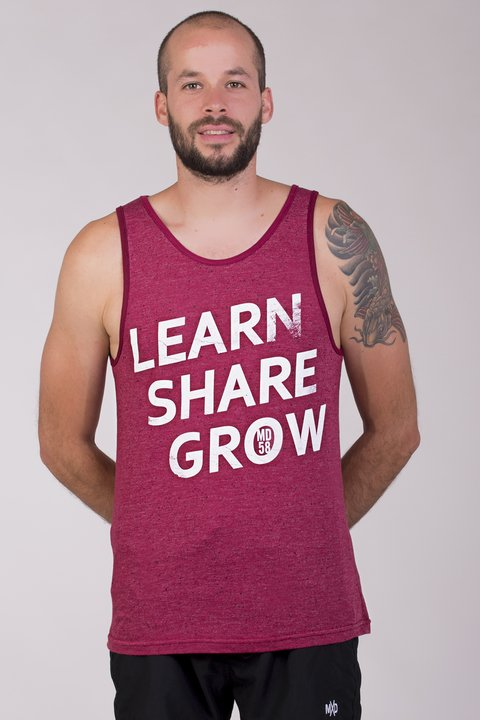 MUSCULOSA LEARN SHARE GROW MD58 2018