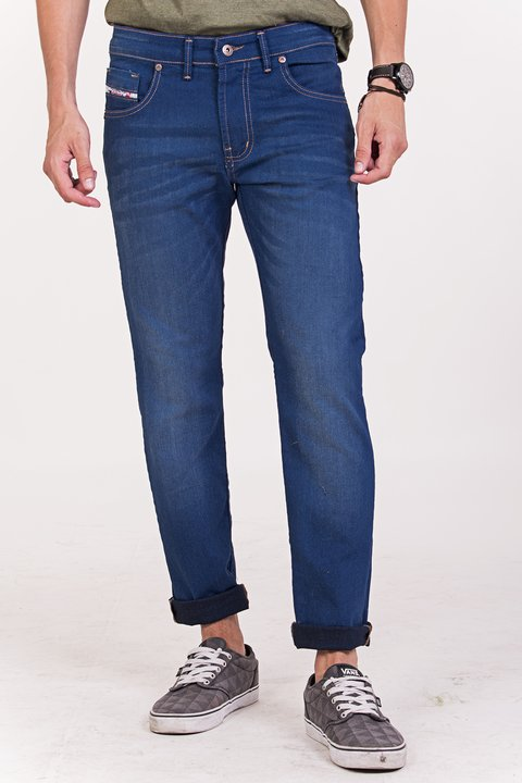 JEANS REGULAR FIT RAINBOW ELASTIZADO