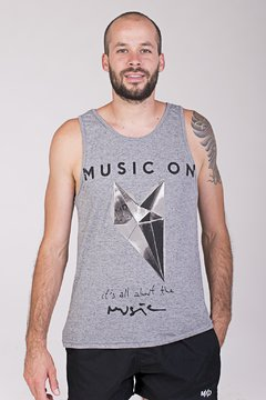 MUSCULOSA MUSIC ON MD58 VERANO- 2018 MUST