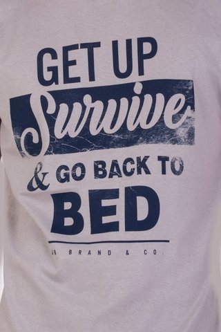 Imagen de REMERA DB GET UP SURVIVE