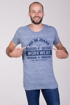 REMERA GRANIZO WORK WEAR MD58 (NN)