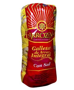 ARROZEN GALLETA DE ARROZ C/SAL REDONDA X 12U