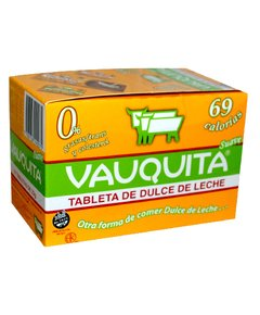 VAUQUITA TABLETA DE DDL LIGHT X 18U DE 25 GR