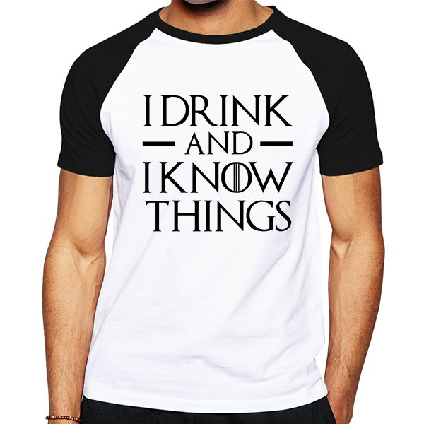 Remera I Drink - Game Of Thrones - comprar online