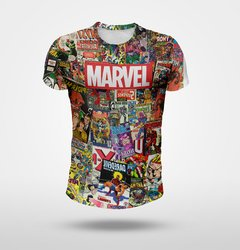 Remera Marvel Color