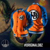 Campera Dragon Ball Z Universitaria (naranja)