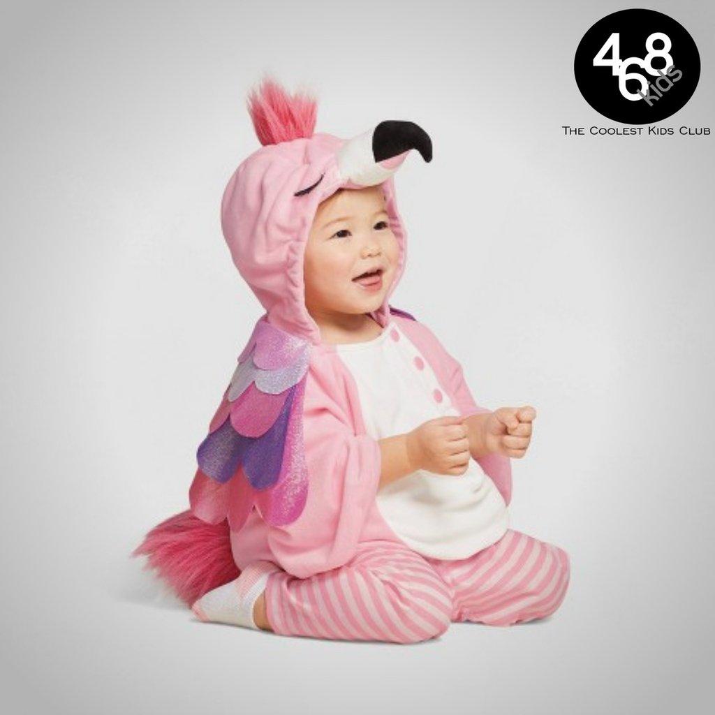 Fantasia Infantil Para Bebes De Flamingo 468kids