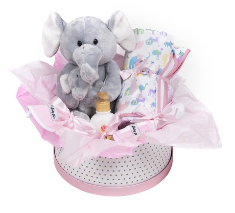 Cesta de Maternidade Little Elephant Girl