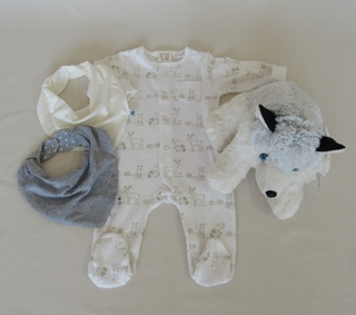 Cesta de Maternidade William, the wolf - comprar online