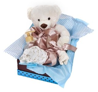 Cesta de Maternidade Little Teddy