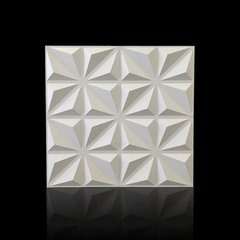 Panel decorativo 3D PVC Diamante 50x50 REVESTIMIENTO PARED