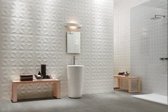 Panel decorativo 3D PVC Diamante 50x50 REVESTIMIENTO PARED - Murr Tienda Online
