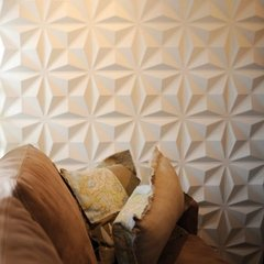Panel decorativo 3D PVC Triangulos 50x50 REVESTIMIENTO PARED - Murr Tienda Online
