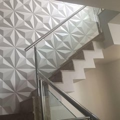 Panel decorativo 3D PVC Triangulos 50x50 REVESTIMIENTO PARED - tienda online