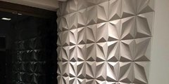 Panel decorativo 3D PVC Diamante 50x50 REVESTIMIENTO PARED - comprar online