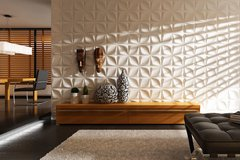 Panel decorativo 3D PVC Diamante 50x50 REVESTIMIENTO PARED en internet