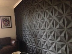 Panel decorativo 3D PVC Triangulos 50x50 REVESTIMIENTO PARED en internet