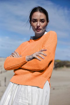 Sweater NILO ORANGE - comprar online