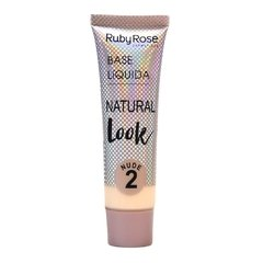 Base Líquida Natural Look Nude 2 - Ruby Rose (HB 8051/1 Cor 02)