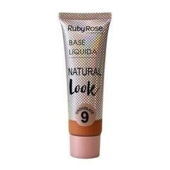 Base Líquida Natural Look Chocolate 9 - Ruby Rose (HB 8051/3 Cor 09)