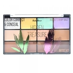 Corretivo Color Correct e Conceal Palette - Ruby Rose (HB 8098)