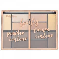 Paleta de Contorno Lovely Powder Cream Contour - Ruby Rose (HB 8100)