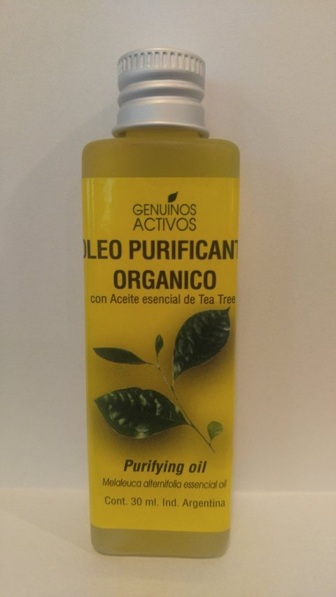 Oleo Purificante Facial Con Tea Tree