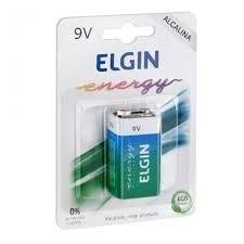 BATERIA 9V ELGIN ENERGY ALCALINA