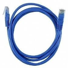 CABO PATCH CORD CAT6E FTP AZUL 2M