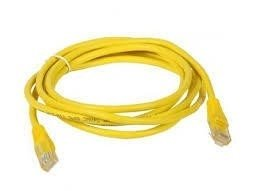 CABO PATCH CORD CAT6 2.5M RP AMARELO