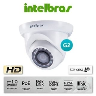 CAMERA IP DOME VIP S4020 GERACAO2