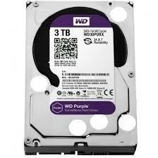 HD 3TB SATA2 7200RPM WD PURPLE
