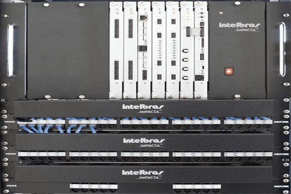 CENTRAL DIGITAL IMPACTA 300 RACK 24RA
