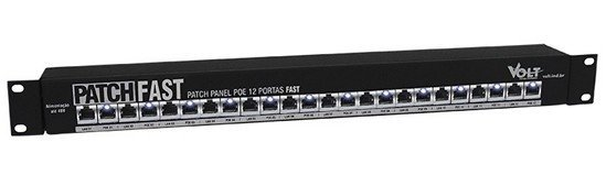 PATCH PANEL GIGA 12 PORTAS - comprar online