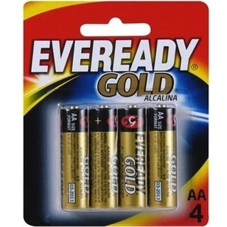 PILHA EVEREADY AA  ALCALINA CARTELA 4