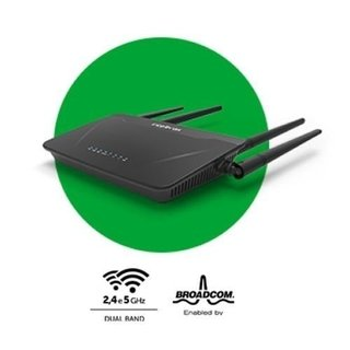 ROTEADOR WIRELESS ACTION RG 1200