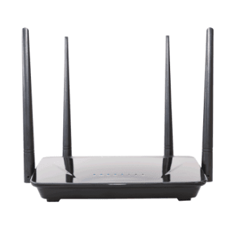 ROTEADOR WIRELESS DUAL BAND ACTION R1200 na internet