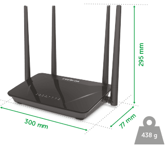 Imagem do ROTEADOR WIRELESS DUAL BAND ACTION R1200