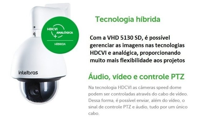 HDCVI CAMERA SPEED VHD 5130 SD