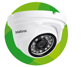 CAMERA DE TV IP DOME VIP 1020 D